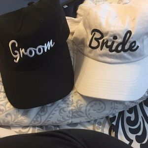 Accessories - Bride and groom hats!
